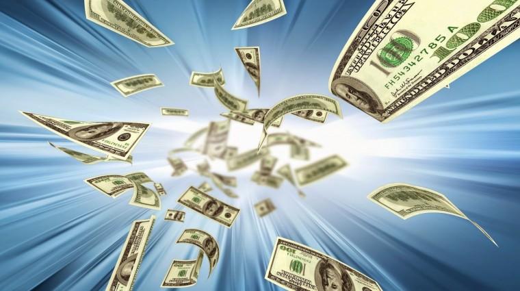 El dinero no cae del cielo. Se cae cuando vivimos en las nubes