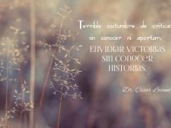 Envidiar victorias…