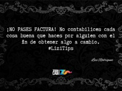No pases factura…