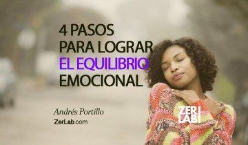 Los 4 pasos para lograr el equilibrio emocional