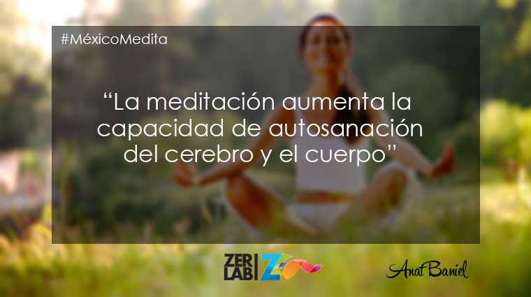 La meditación aumenta…