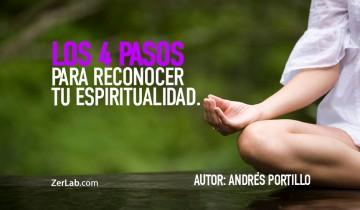 Los 4 pasos para reconocer tu espiritualidad