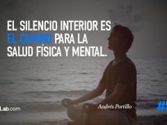 El silencio interior…