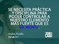 Se necesita práctica y disciplina…