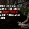 El amor…