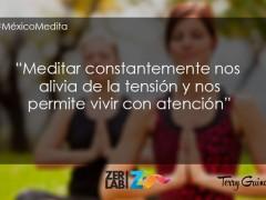 Meditar constantemente…
