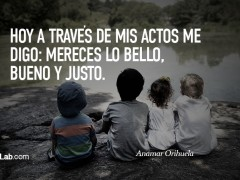 Mereces lo bello…