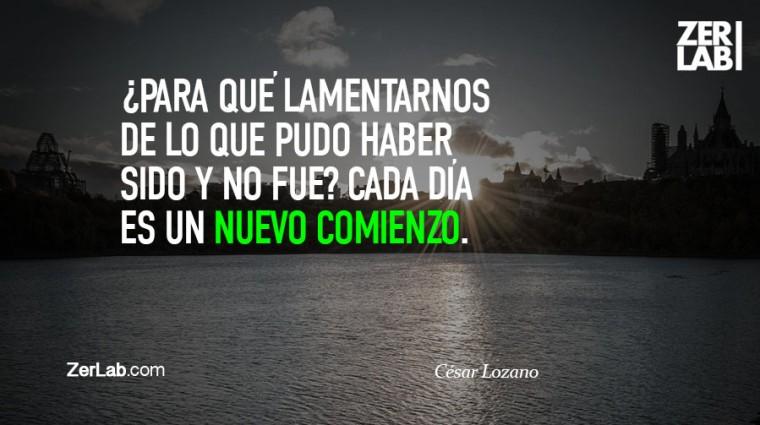 Cesar Lozano Nuevo Comienzo Zerlab