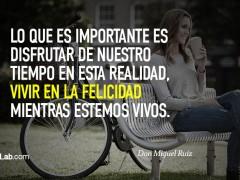 Lo importante es disfrutar…