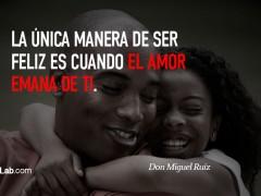 El amor emana de ti…