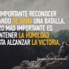 Es importante…