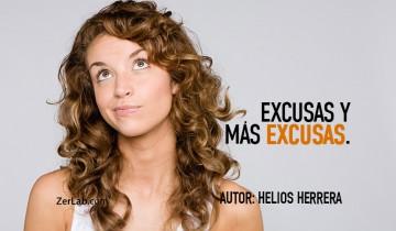 Excusas y más excusas