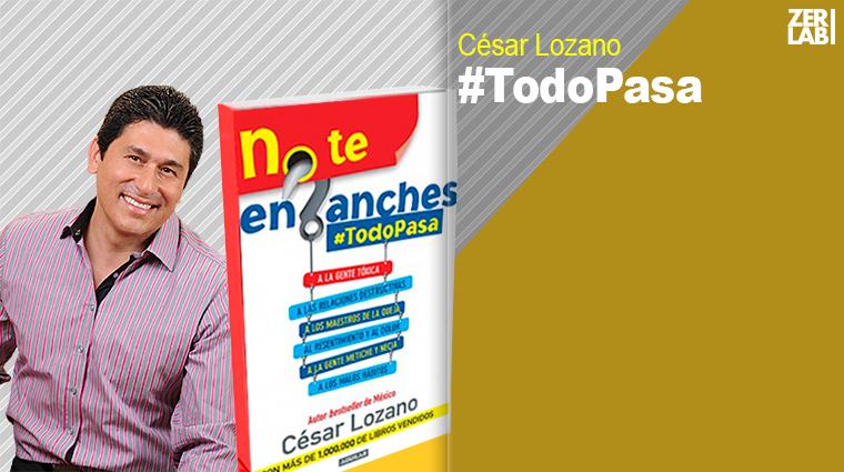 No Te Enganches, libro de César Lozano