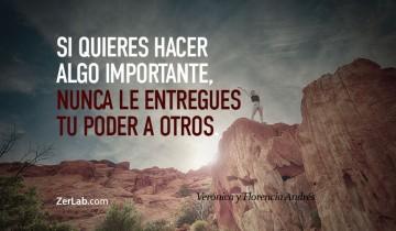 Si quieres hacer algo importante…