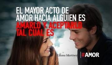 El mayor acto de amor…