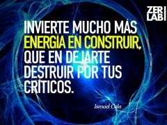 Invierte tu energía…