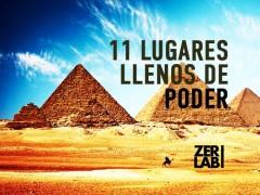 11 lugares llenos de poder