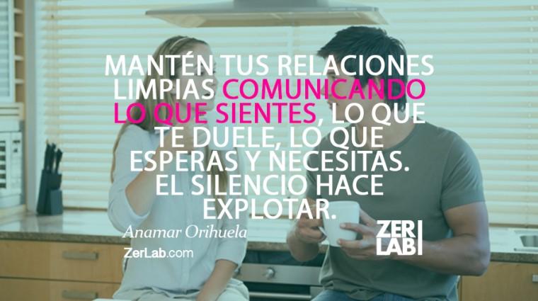 Mantén limpias tus relaciones…